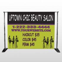 Uptown Salon 642 Pocket Banner Stand