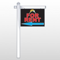 "Moon Roof 722 18""H x 24""W Swing Arm Sign"