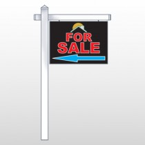 "Moon Roof 724 18""H x 24""W Swing Arm Sign"
