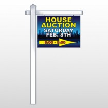 "Open House Night City 709 18""H x 24""W Swing Arm Sign"