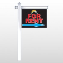 "Moon Roof 723 18""H x 24""W Swing Arm Sign"