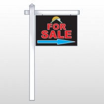 "Moon Roof 725 18""H x 24""W Swing Arm Sign"