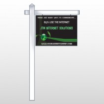 "World Of Numbers 436 18""W x 24""H Site Sign"