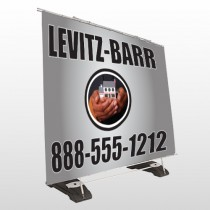 Bar 246 Exterior Pocket Banner Stand