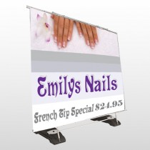 Flower Hands 295 Exterior Pocket Banner Stand