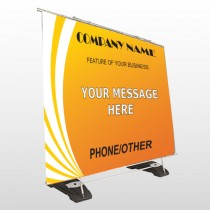 Law 142 Exterior Pocket Banner Stand