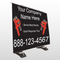Monkey Wrench 257 Exterior Pocket Banner Stand
