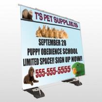 Pet Supplies 305 Exterior Pocket Banner Stand