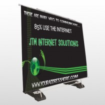 World Of Numbers 436 Exterior Pocket Banner Stand