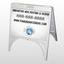 Business Global 438 A Frame Sign