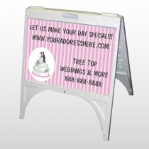 Cake Topper 412 A Frame Sign