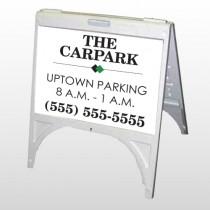 Car Park 122 A Frame Sign