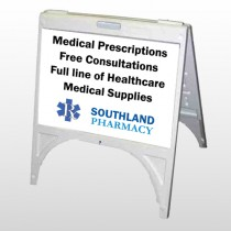 Pharmacy 335 A Frame Sign
