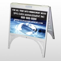 World Wide Web 437 A Frame Sign