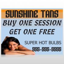 Sunshine Tans 297 Custom Decal