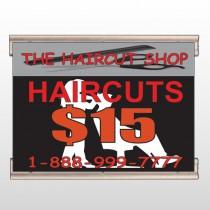 Haircut Scissor 644 Track Banner