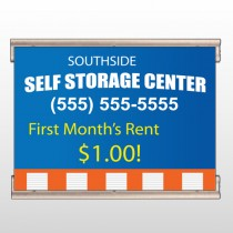 Storage Building 120 Track Banner