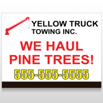 Towing 300 Site Sign