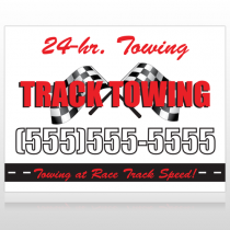 Towing 311 Site Sign