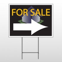 For Sale Corner 705 Wire Frame Sign