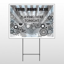 Gray City 368 Wire Frame Sign