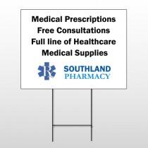 Pharmacy 335 Wind Frame Sign