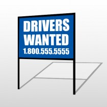 Drivers Wanted 314 H Frame Sign