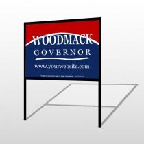 Governor 308 H-Frame Sign