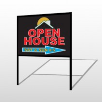 Open Moon Roof 727 H-Frame Sign