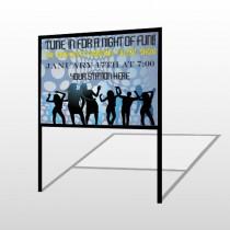 Talent Show 440 H Frame Sign