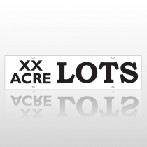 XX Acre Lots Rider