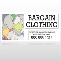 Bargain Bin 532 Site Sign