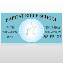 Bibledove 162 Sign