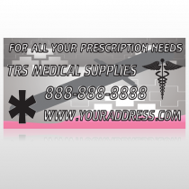Caduceus Med 503 Custom Sign