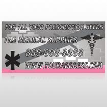 Caduceus Med 503 Site Sign