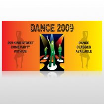 Dance Disco 518 Site Sign