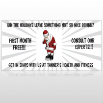 Health Santa 402 Custom Decal