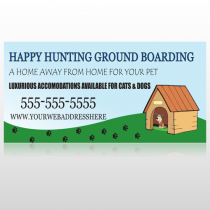 Hunting 301 Site Sign