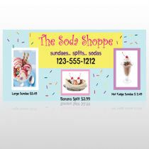 Ice Cream 374 Custom Sign
