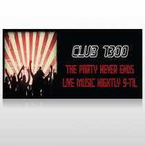 Night Club 523 Custom Sign