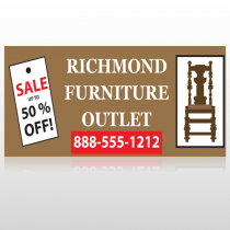 Outlet Chair 527 Site Sign