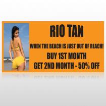 Rio Tan Beach 489 Site Sign