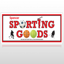 Sporting Goods 528 Site Sign