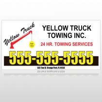 Towing 125 Custom Decal