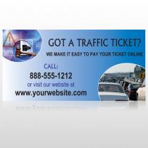Traffic Cars 151 Custom Sign