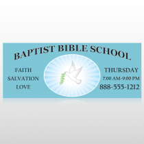 Bible Dove 162 Banner