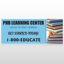 Book Learning 156 Custom Banner