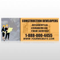 Contractors 645 Custom Banner