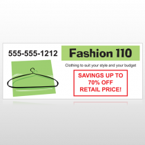 Fashion Hanger 526 Banner
