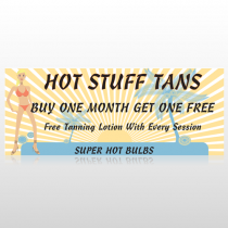 Hot Beach Tan 299 Custom Banner